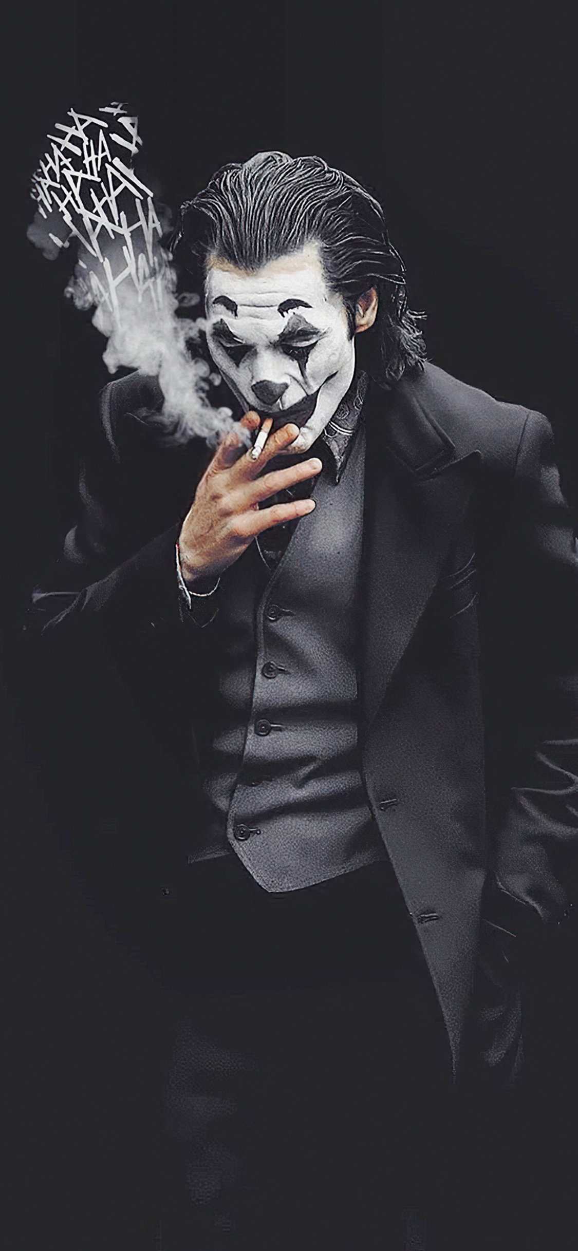 Joker Smoking Wallpaper Iphone X