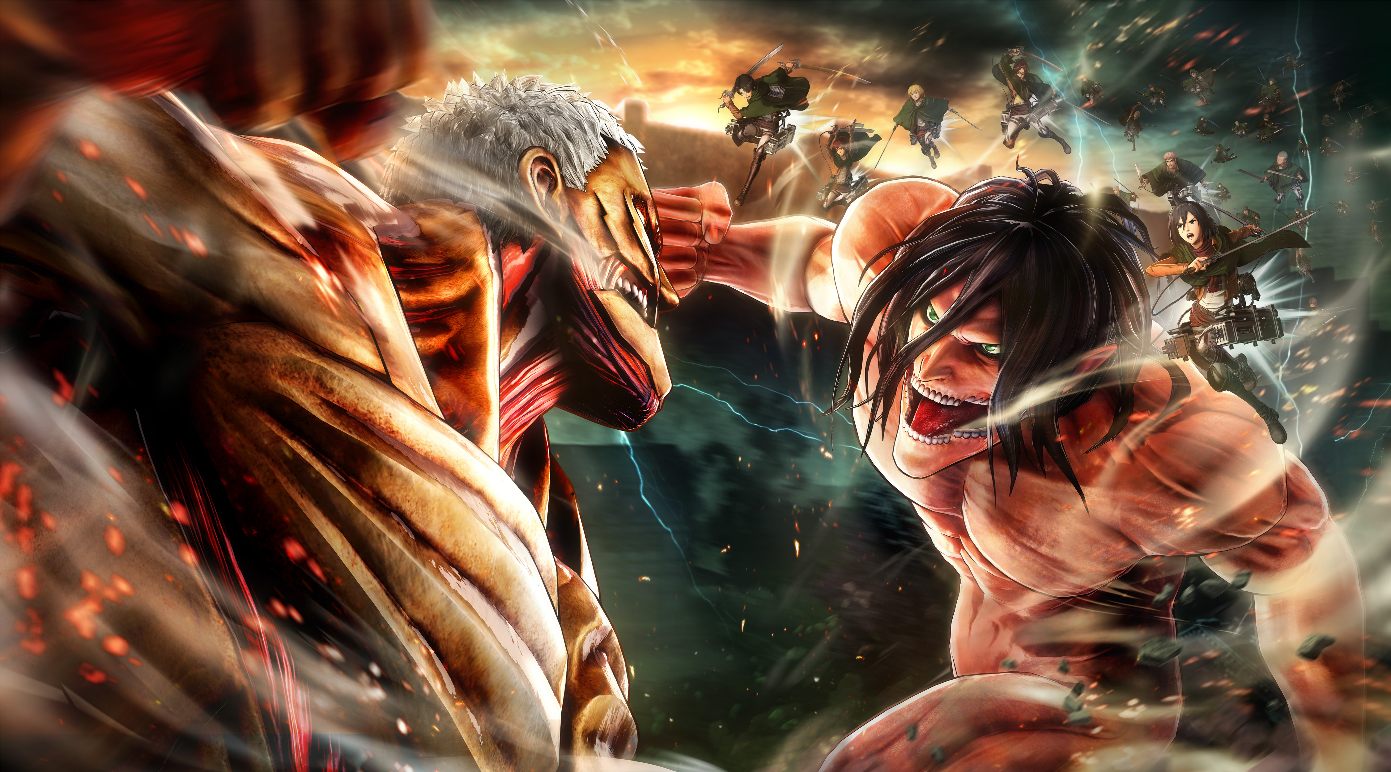 Wallpaper 1920x1080 Attack On Titan