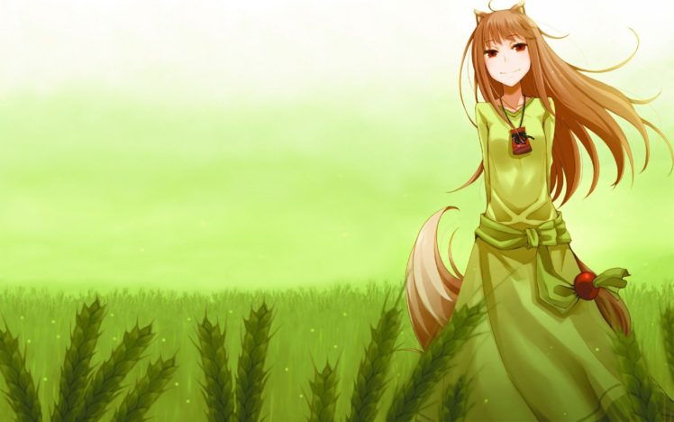 Spice And Wolf Phone Wallpaper