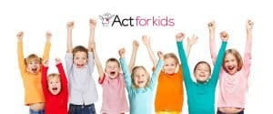 Act For Kids Charity Banner