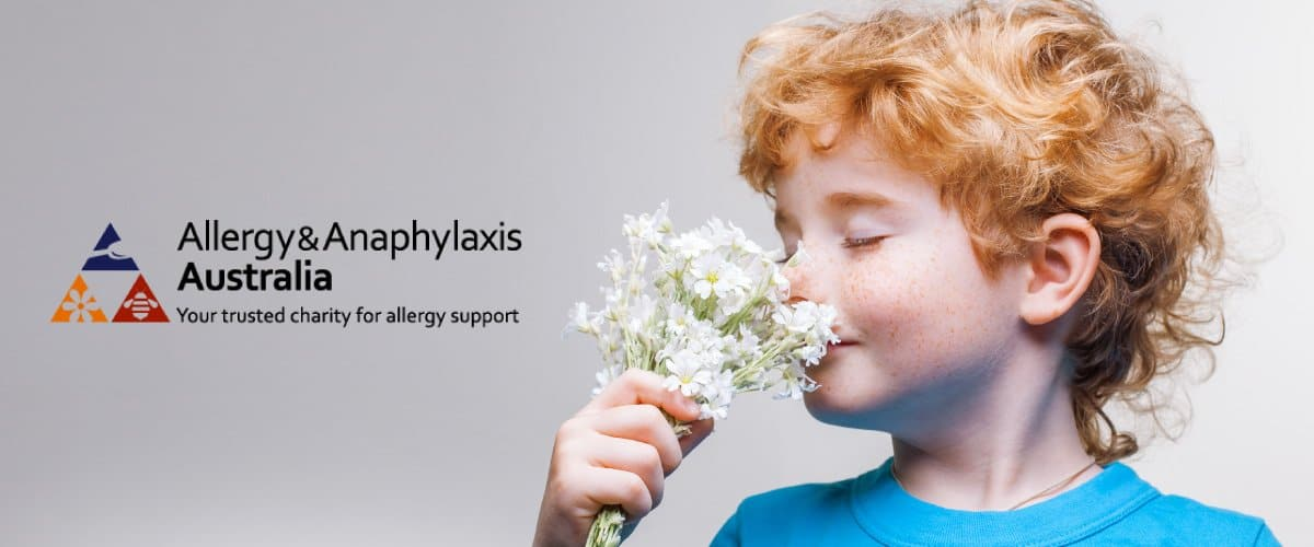 Allergy Anaphylaxis Charity Banner