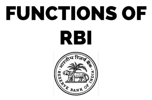 functions of rbi