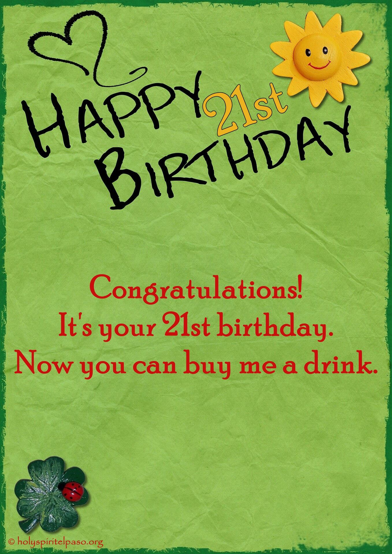 21st Birthday Quotes Short Inspirational Sayings On 21st Anniversary