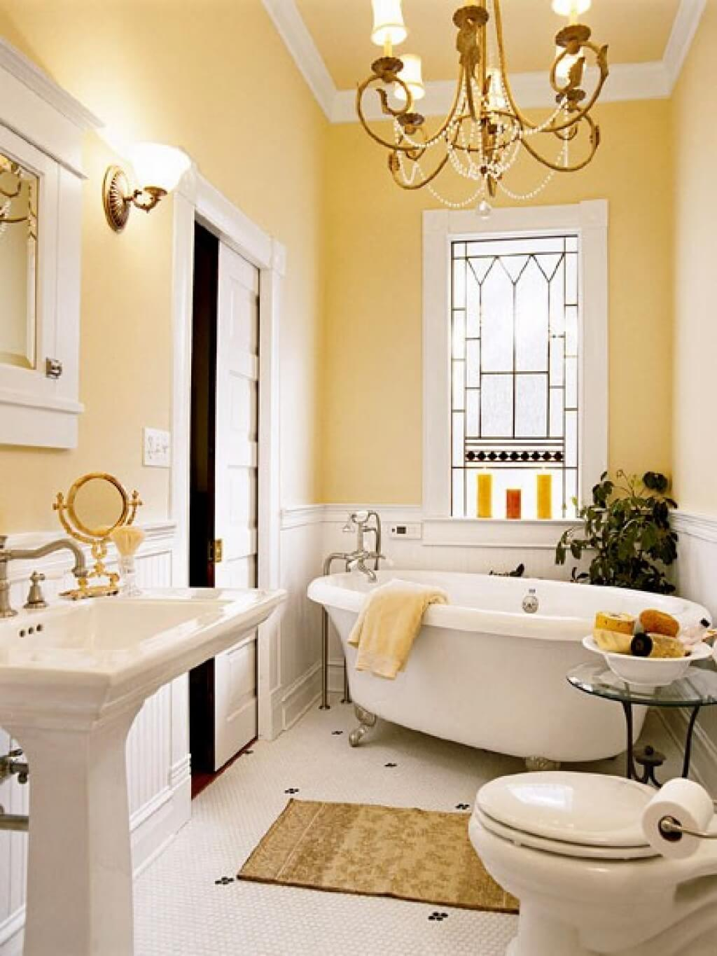 Best Wall Color For Small Bathroom
