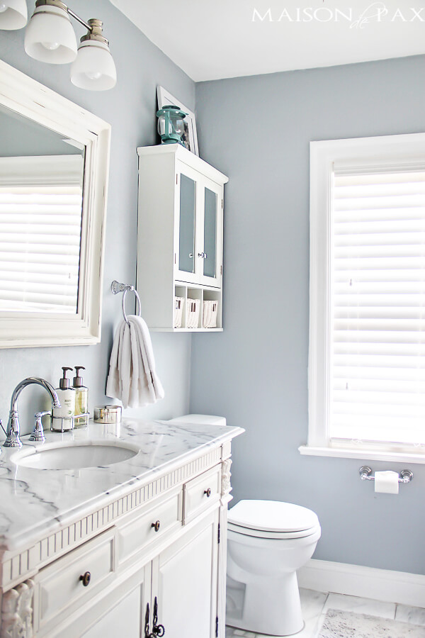 Nice Colors For Small Bathroom