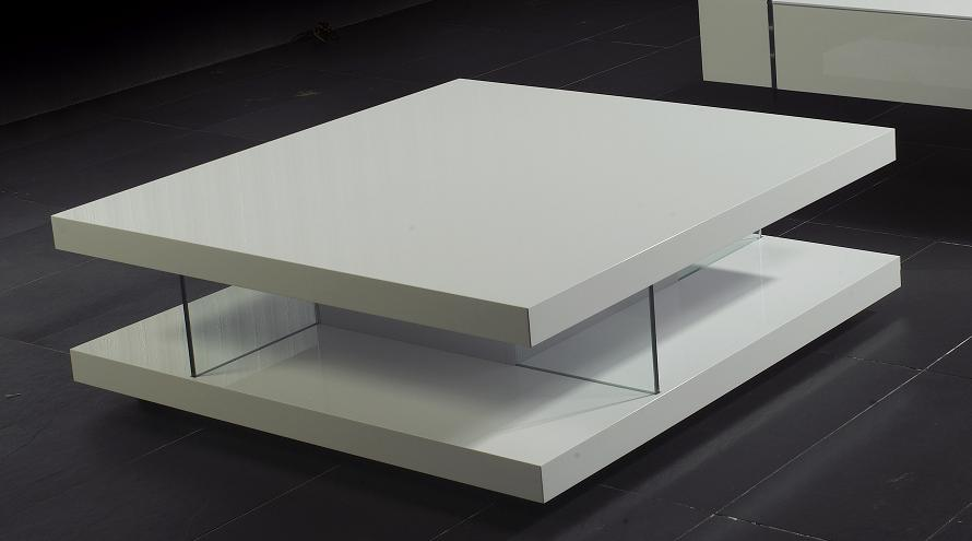 White High Gloss Coffee Table With Storage Ideas
