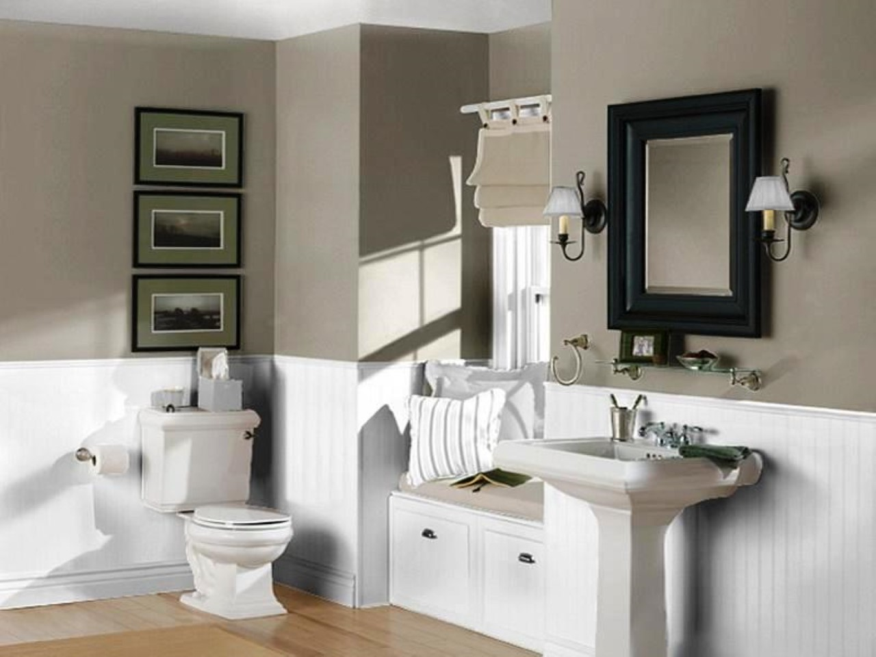 Best Wall Paint Color For Bathroom