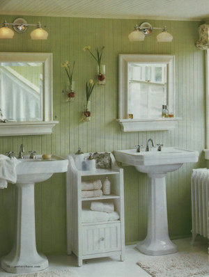 Green Colors For Bathroom Walls