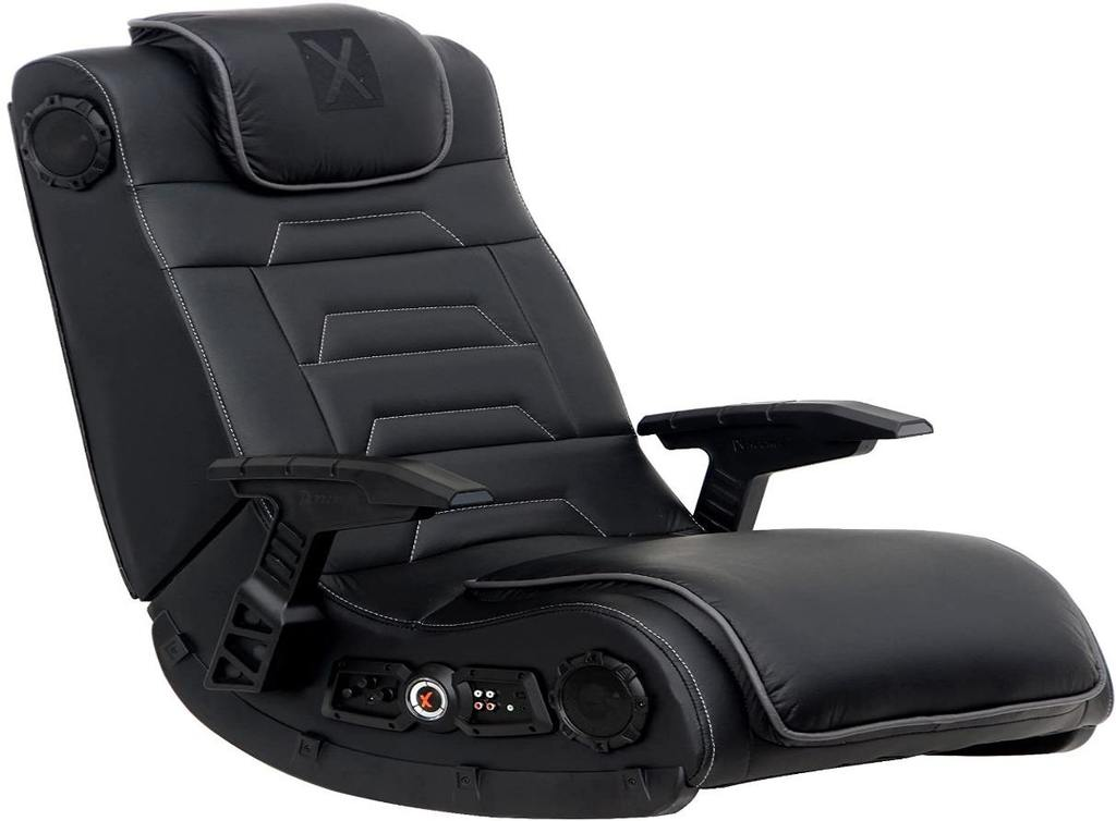 X Rocker -Pro Series H3 Leather Gaming Chair