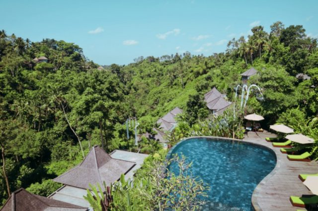 Bali honeymoon resort Udhiana resort in Ubud