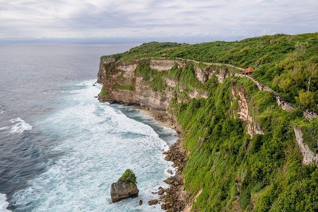 Uluwatu Coast Cliffs