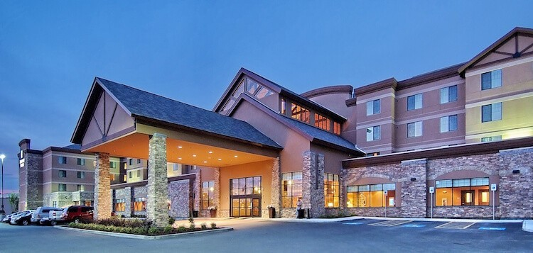 Embassy Suites in Anchorage Alaska