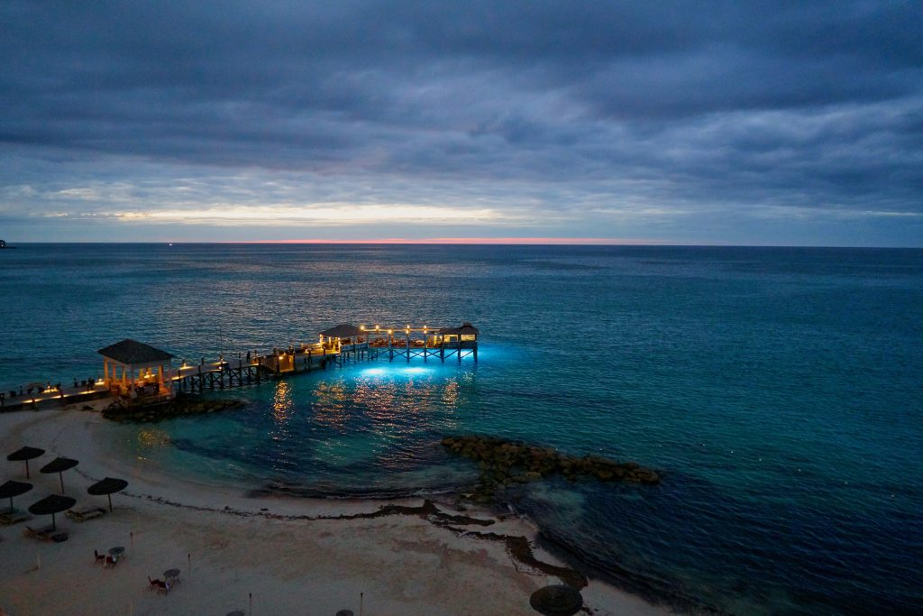 bahamas honeymoon sunset