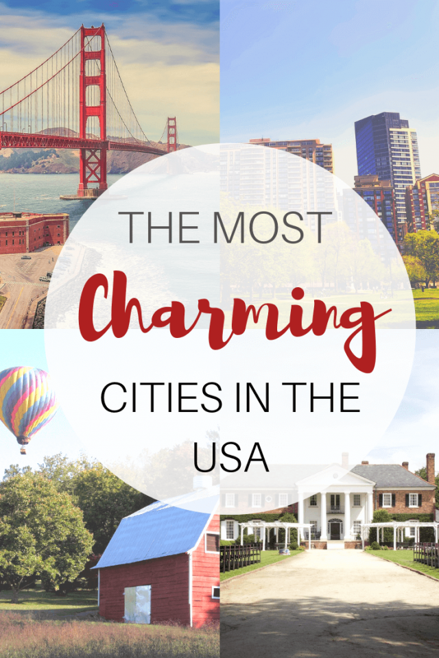 Most Charming Cities in the USA for a romantic getaway
