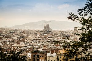 Barcelona, Spain for honeymooners