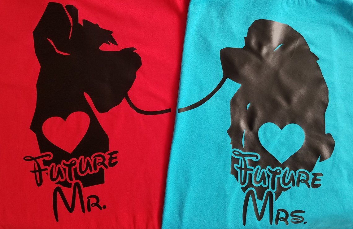 Lady & the Tramp Couples Tees