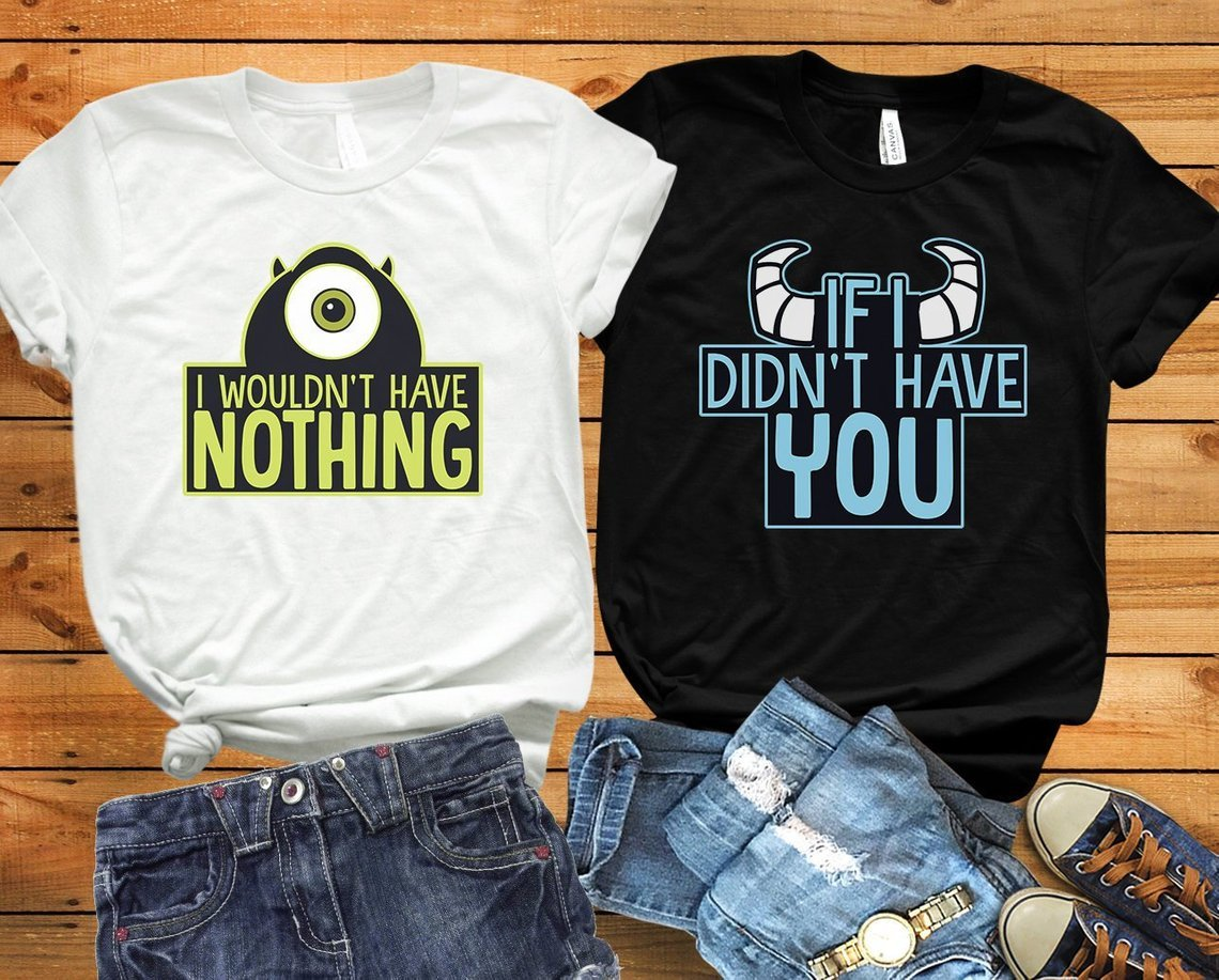 Monsters Inc. Couples Tee