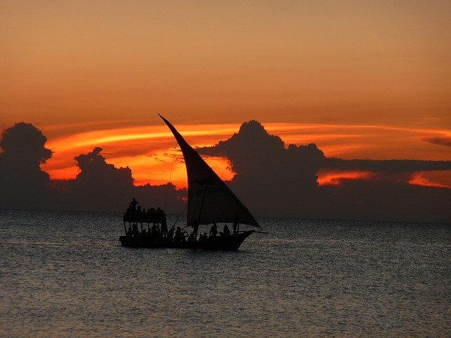 Zanzibar sailboat honeymoon sunset cruise