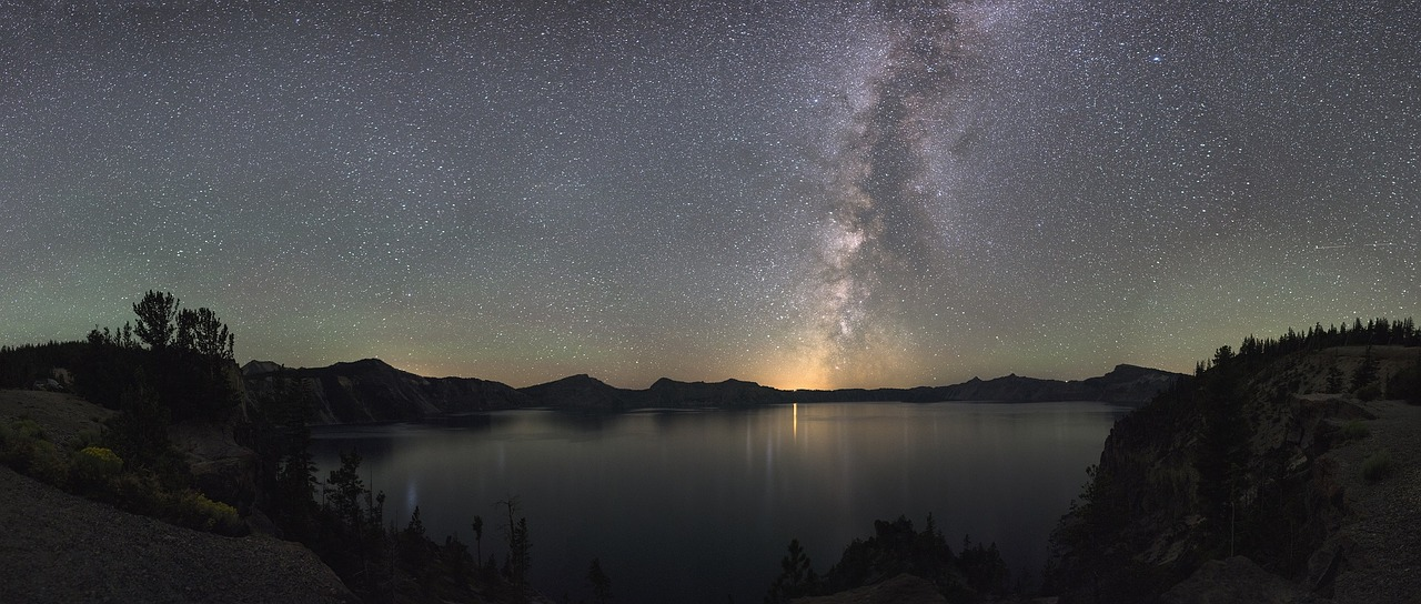 the milky way in oregon perfect for honeymooners