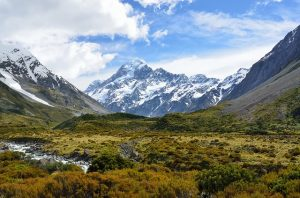 aoraki mountain new zealand for honeymooners