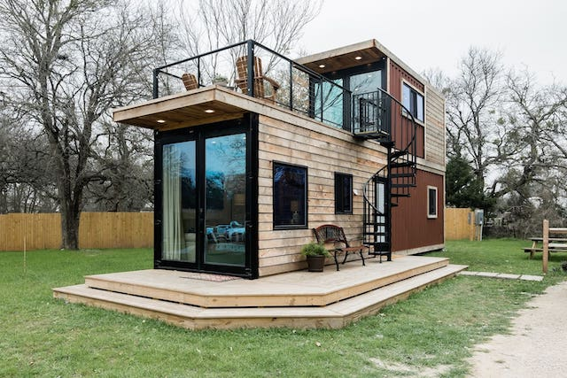 container home in Waco for rent