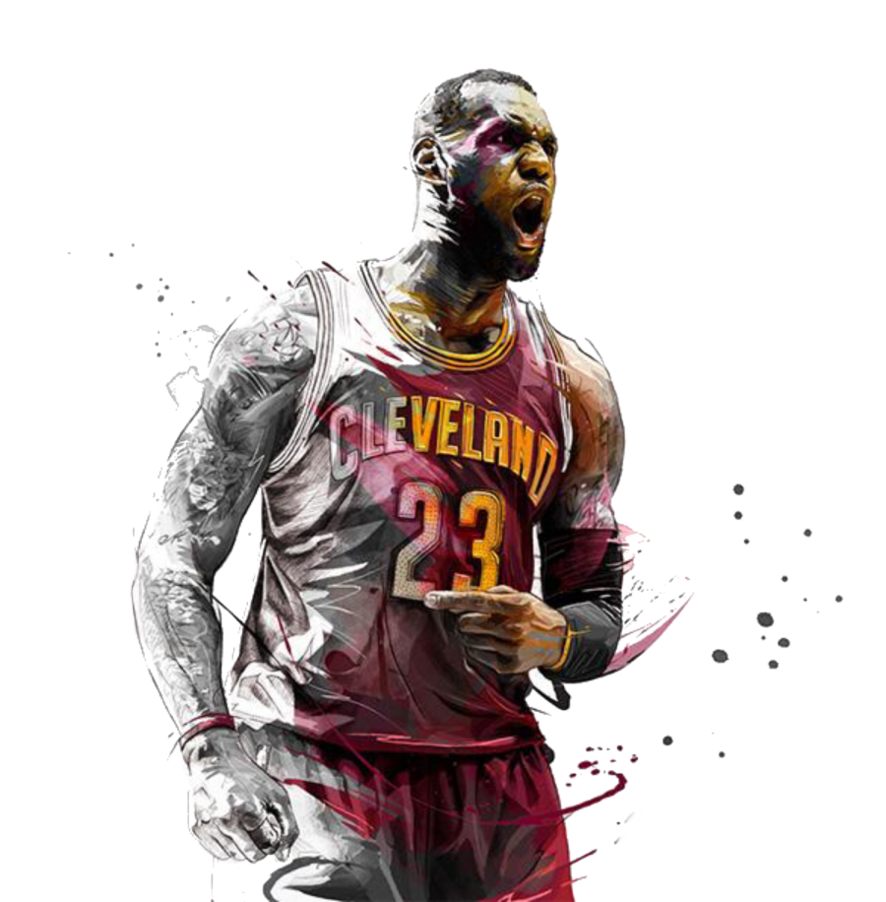 Lebron James Cartoon Wallpaper Lakers
