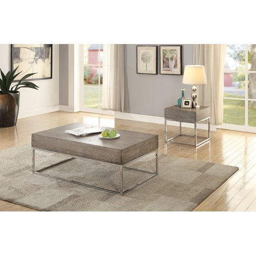 17 Stories Criswell 2 Piece Coffee Table Set Walmart Com