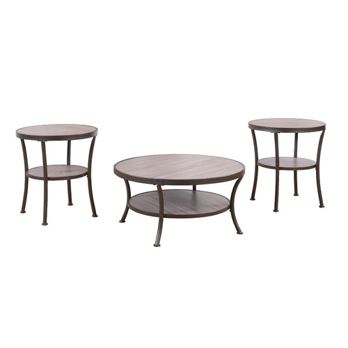 Ebern Designs Wragby 3 Piece Coffee Table And End Table Set