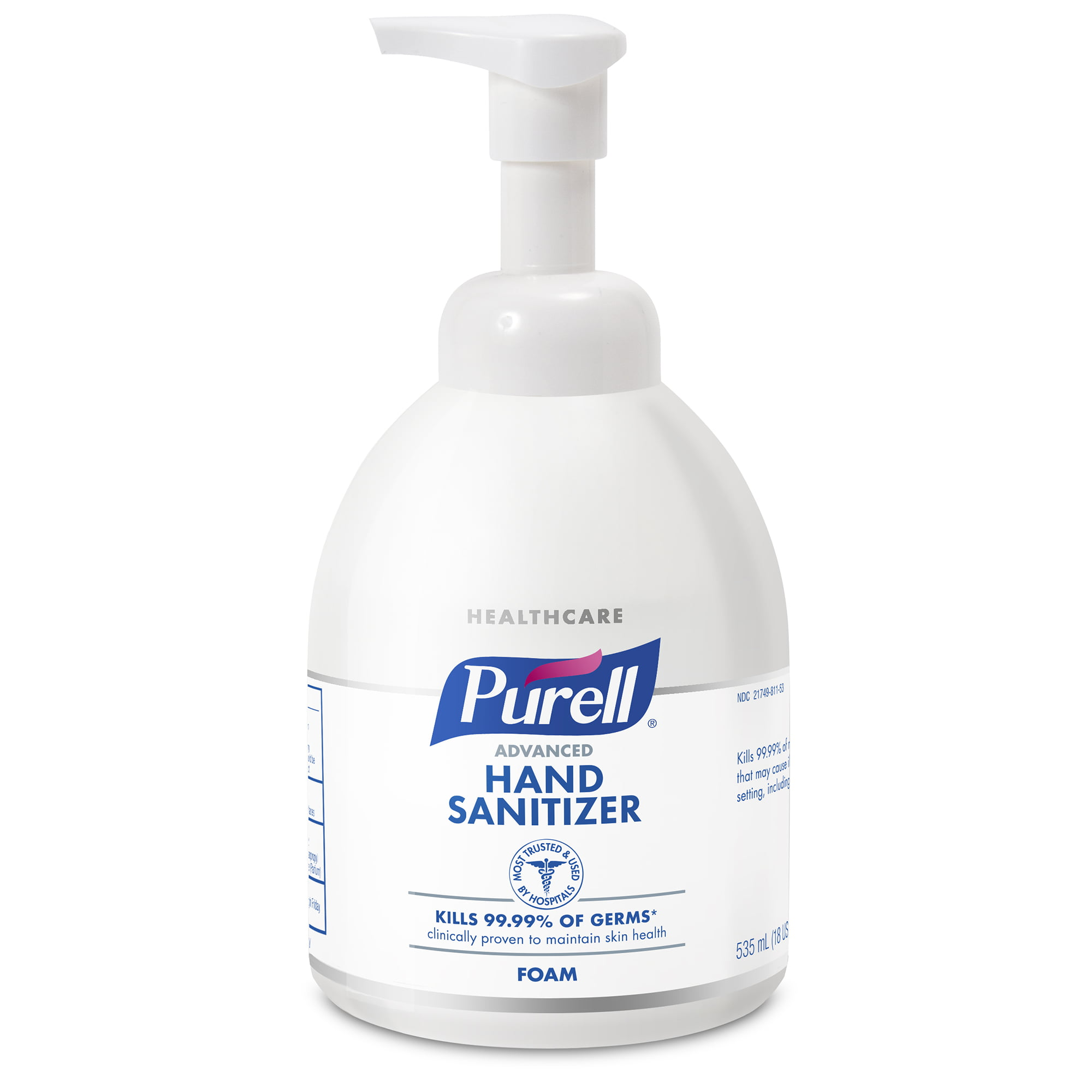 Purell Sf607 Alcohol Free Foam Hand Sanitizer 45ml Pump Bottle