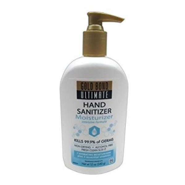 Gold Bond Ultimate Hand Sanitizing Moisturizer 12 Oz Walmart Com