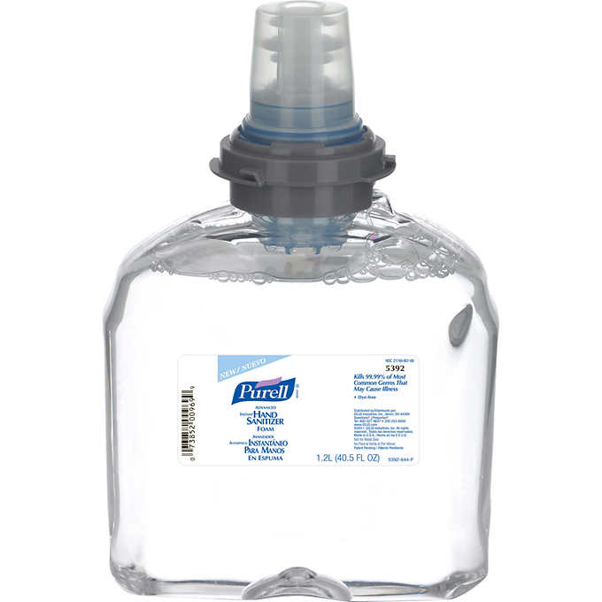 Purell Advanced Tfx Instant Hand Sanitizer Foam Refill 1 200ml Goj