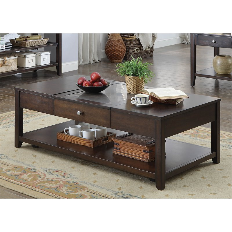 Furniture Of America Hampton Modern Lift Top Coffee Table In