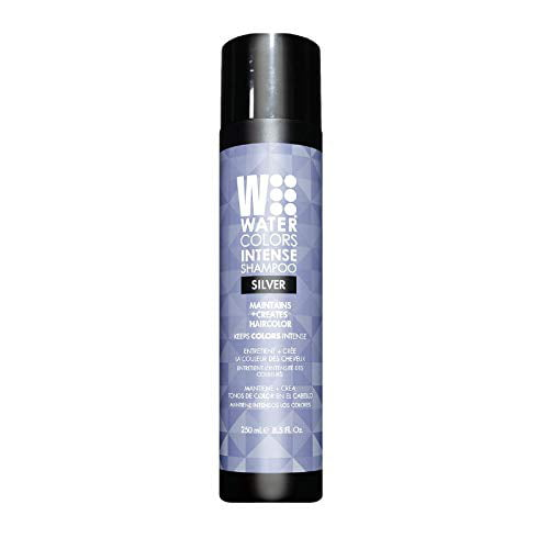 Tressa Watercolors Intense Metallic Shampoo Silver 8 5 Oz