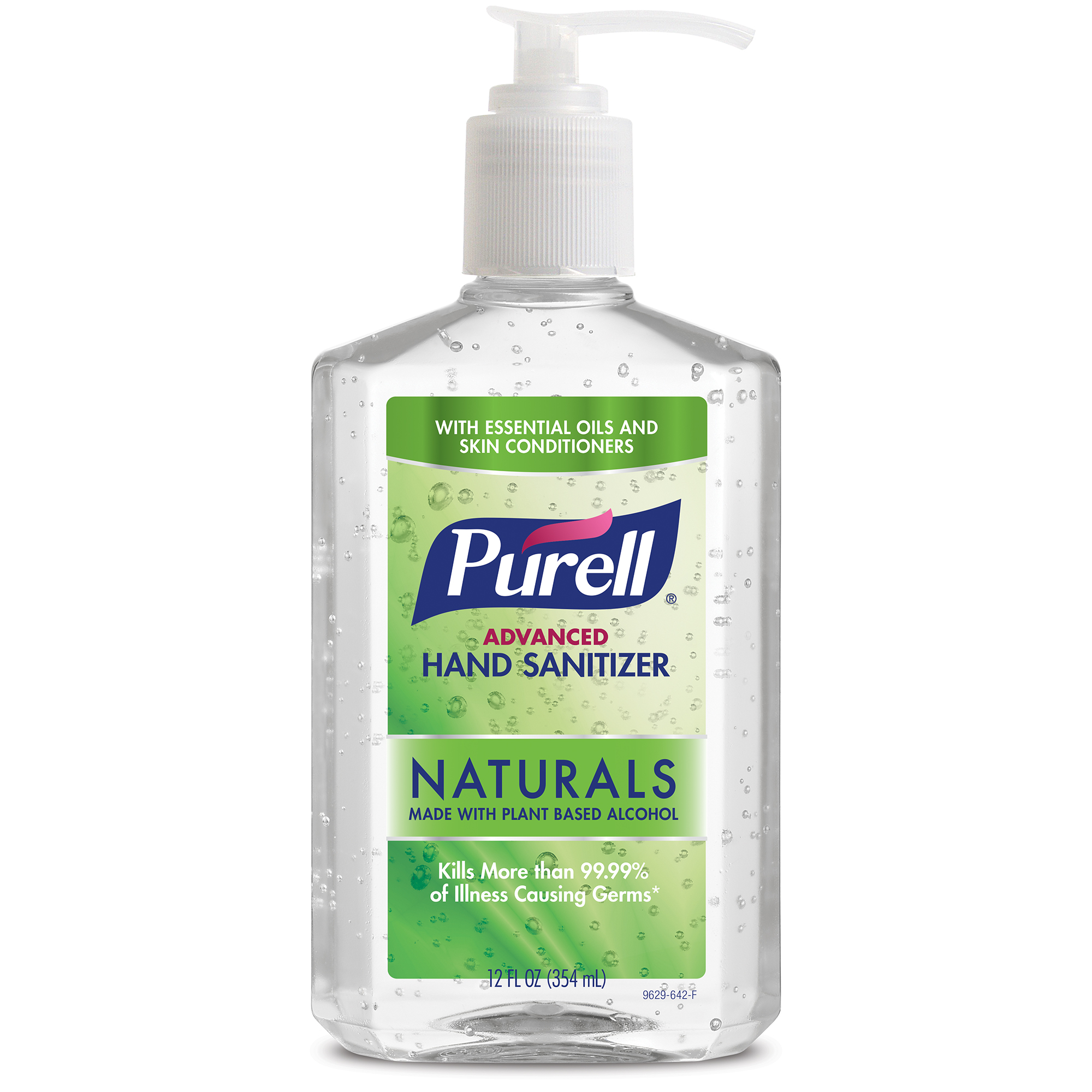 Pack Of 2 Purell Advanced Hand Sanitizer Naturals With Plant