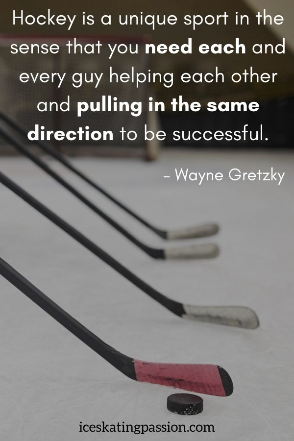 35 Inspirational Ice Hockey Quotes And Funny Ones