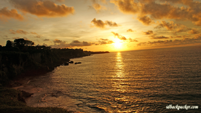 Tegalwangi Beach is the best place to enjoy romantic sunset in Bali