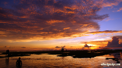 Enjoy surfing and sunset only in Suluban Beach