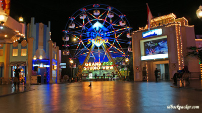 Trans Studio, claimed to be the biggest indoor amusement park in Asia
