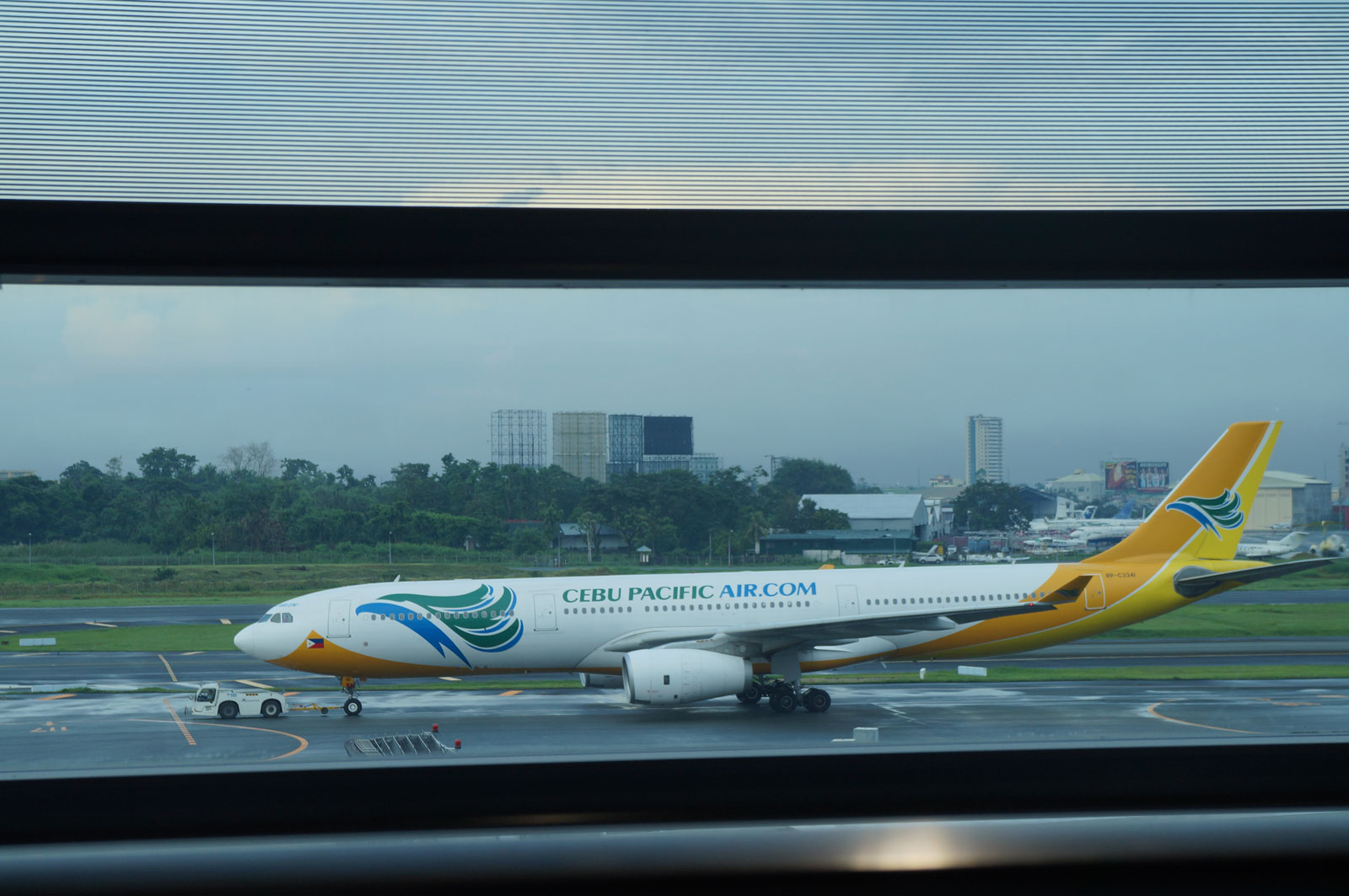 The plane that fly me to Philippines!