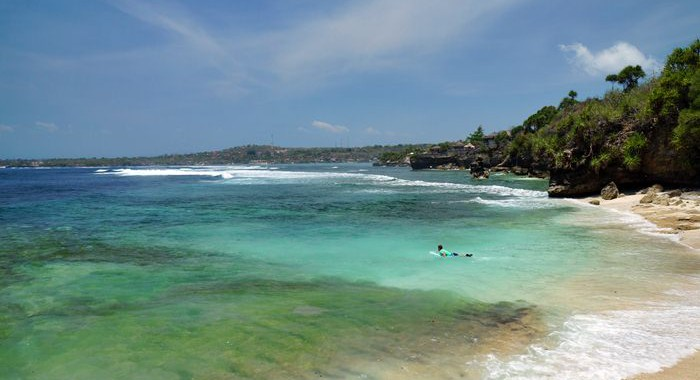 Secret Point Beach, the water here is very cold :D