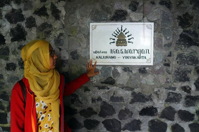 No picture taking is Allowed inside Ullen Sentalu Museum, but outside you can take any picture like this.