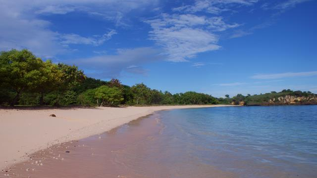 You'll love this pink sand now! What about visiting Tangsi Beach?