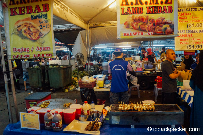 Night Market in Brunei Darussalam