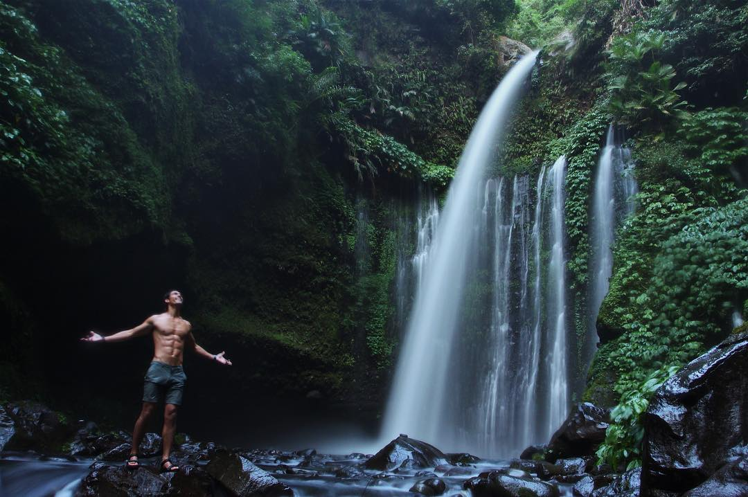 Tiu Teja, One Of Hidden Waterfall In Lombok via @richo_kyle