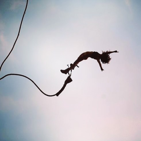 5. Try bungee jumping