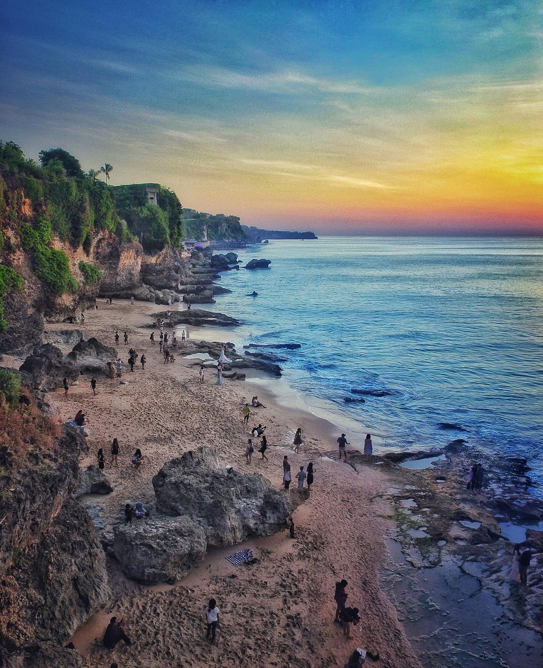 7. Tegal Wangi Bali hidden beach! via @rakaontrip