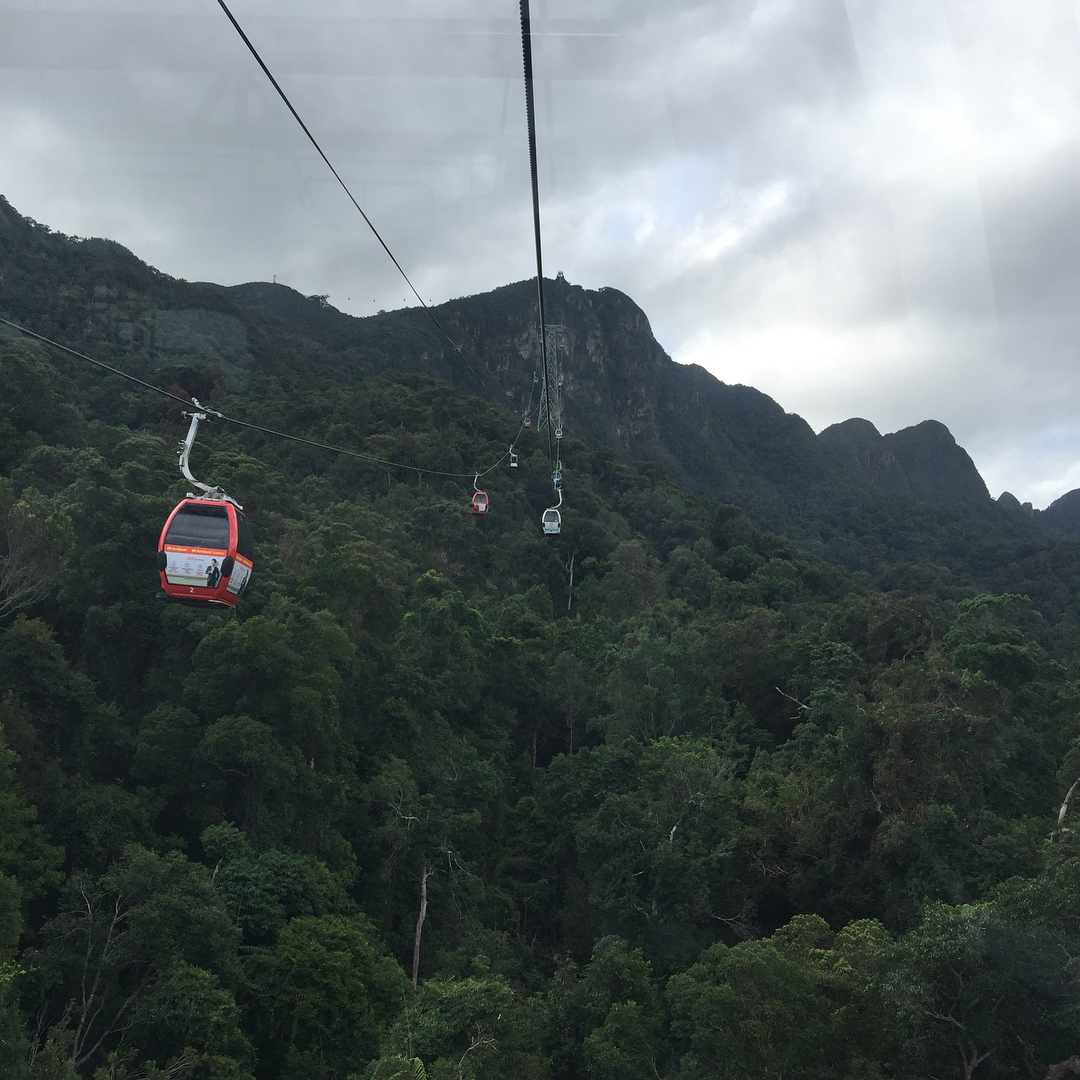 Tourist Places In malaysia - Tourist Attractions In Malaysia Langkawi Cable Car