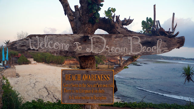 You can dream all day long here! At Dream Beach!