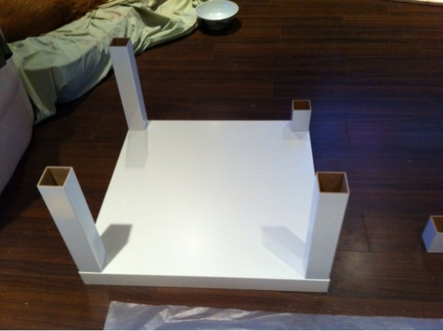 Modified Lack Coffee Table Ikea Hackers