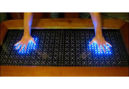 Arduino Controlled Reactive Led Coffee Table Dfrobot